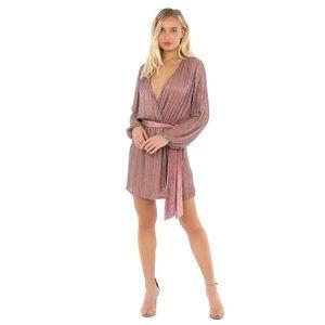 NWT Karina Grimaldi Garda beaded mini dress xs